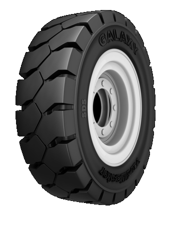 Шина 15X4.5-8(125/75-8) W/O Peg/STD HEEL W/O RIM н.с.w/o RIM YARD MASTER Solid 601065-33 Galaxy
